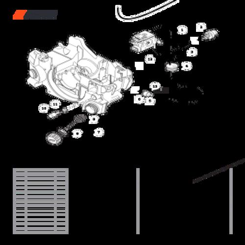 CS-352 SN C19813001001 - C19813999999 - Fuel System S/N C19813001001 - C19813005500 Parts lookup