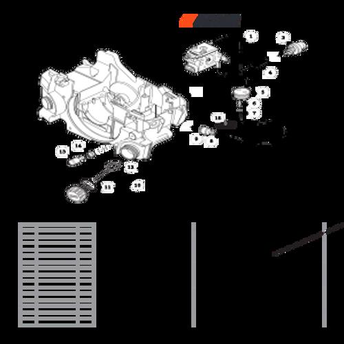 CS-352 SN C19813001001 - C19813999999 - Fuel System S/N C19813005501 - C19813999999 Parts lookup