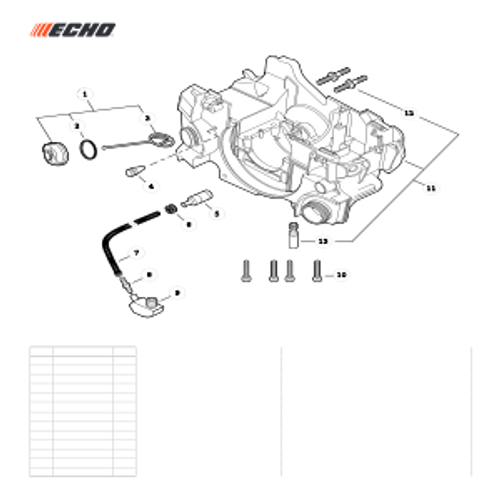 CS-352 SN C19813001001 - C19813999999 - Oil System Parts lookup