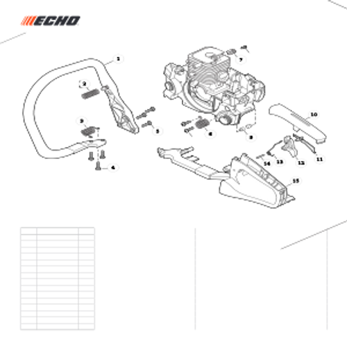 CS-352 SN C19813001001 - C19813999999 - Handles, Throttle Control Parts lookup