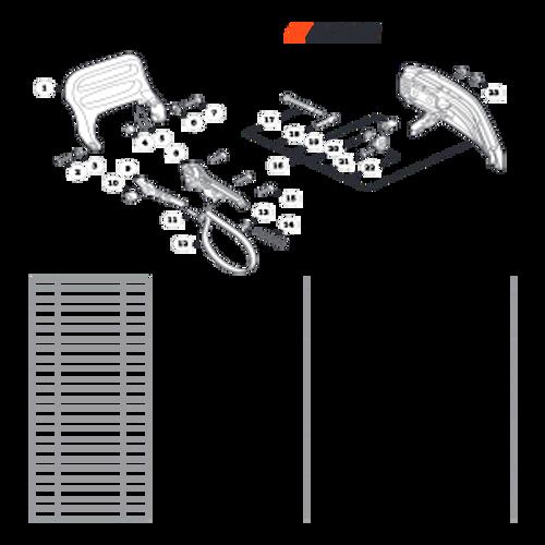 CS-352 SN C19813001001 - C19813999999 - Chain Brake Parts lookup