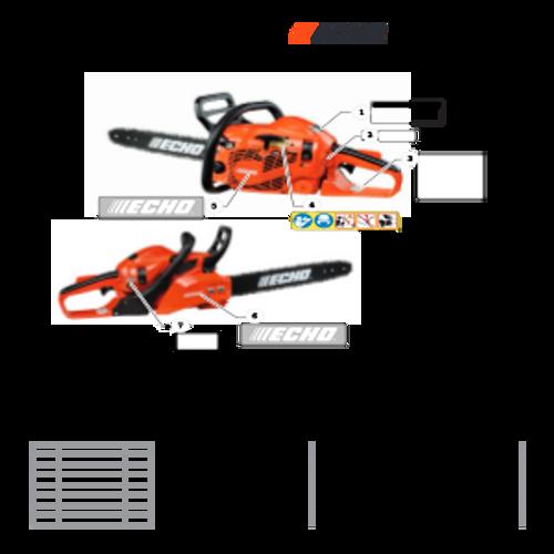 CS-352 SN C19813001001 - C19813999999 - Labels S/N C19813006678 - C19813999999 Parts lookup