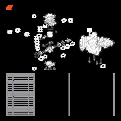 CS-400F SN C27812001001 - C27812999999 - Engine Parts lookup
