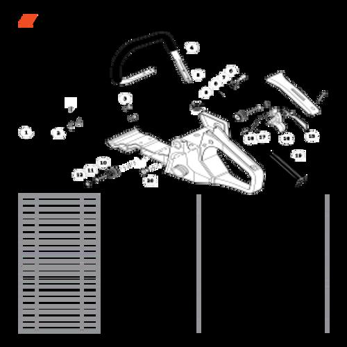 CS-400F SN C27812001001 - C27812999999 - Handles, Throttle Control Parts lookup