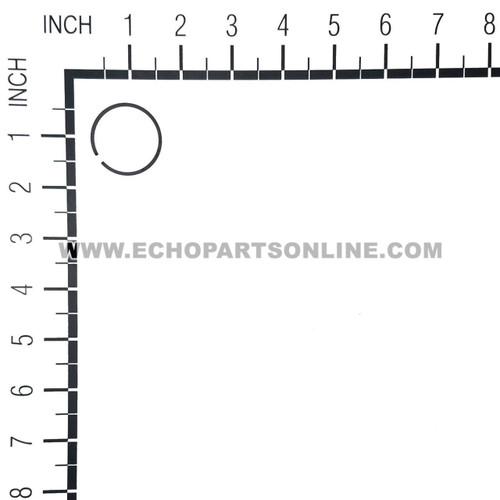 ECHO A101000140 - RING PISTON - Image 2