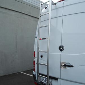 Sprinter Commercial Van Ladder Racks | Advantage Outfitters