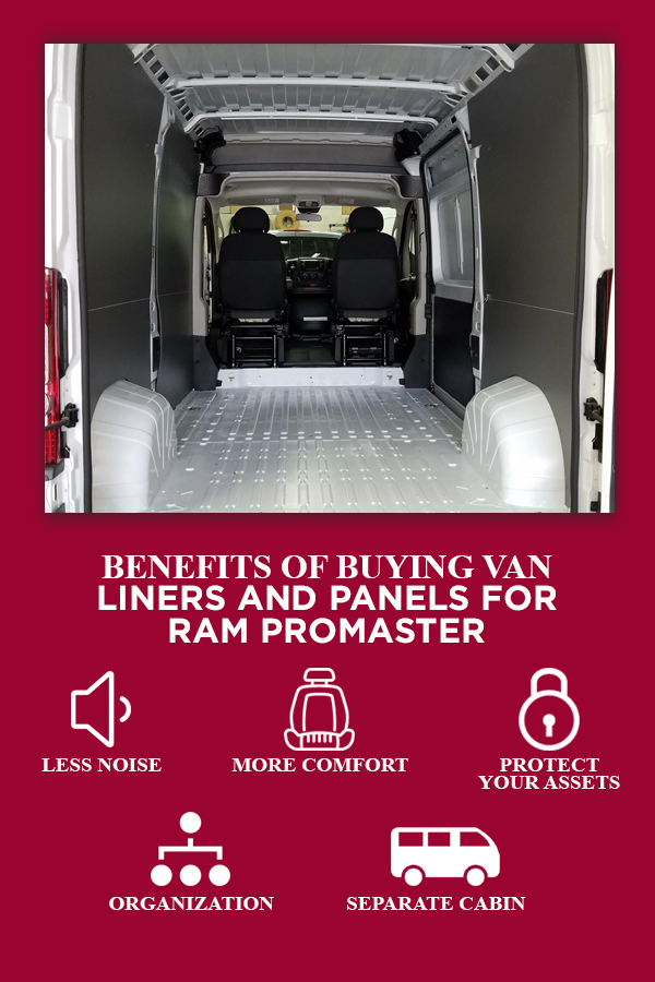 The Benefits of Buying Van Liners and Panels for Ram ProMaster