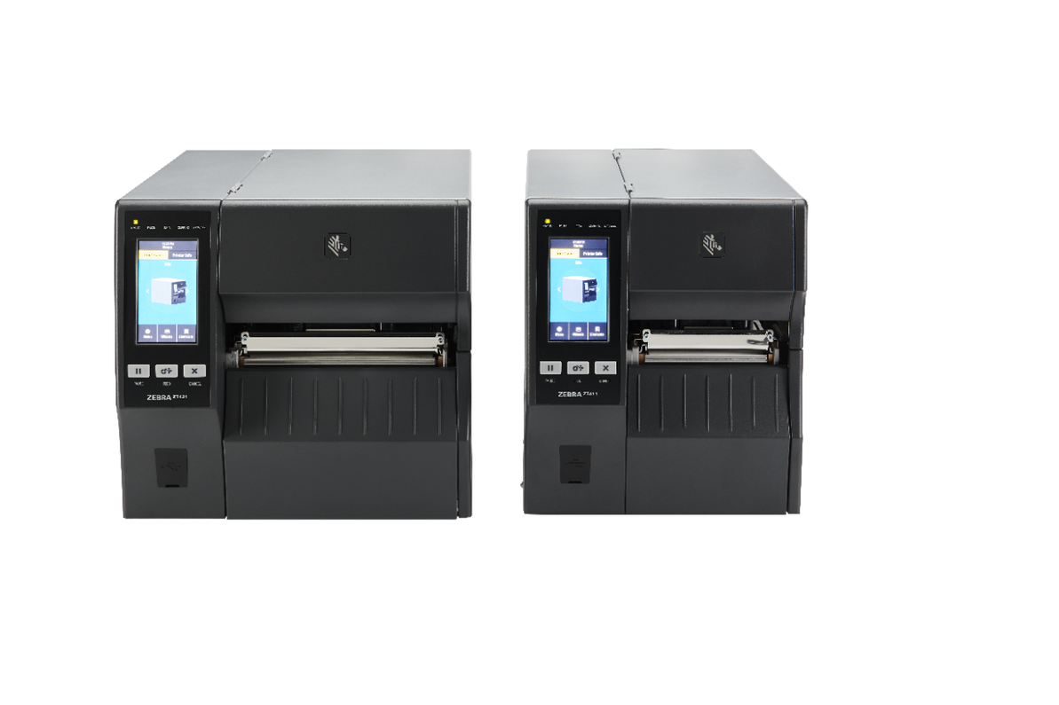 New Zebra ZT400 Series Industrial Printers Overview