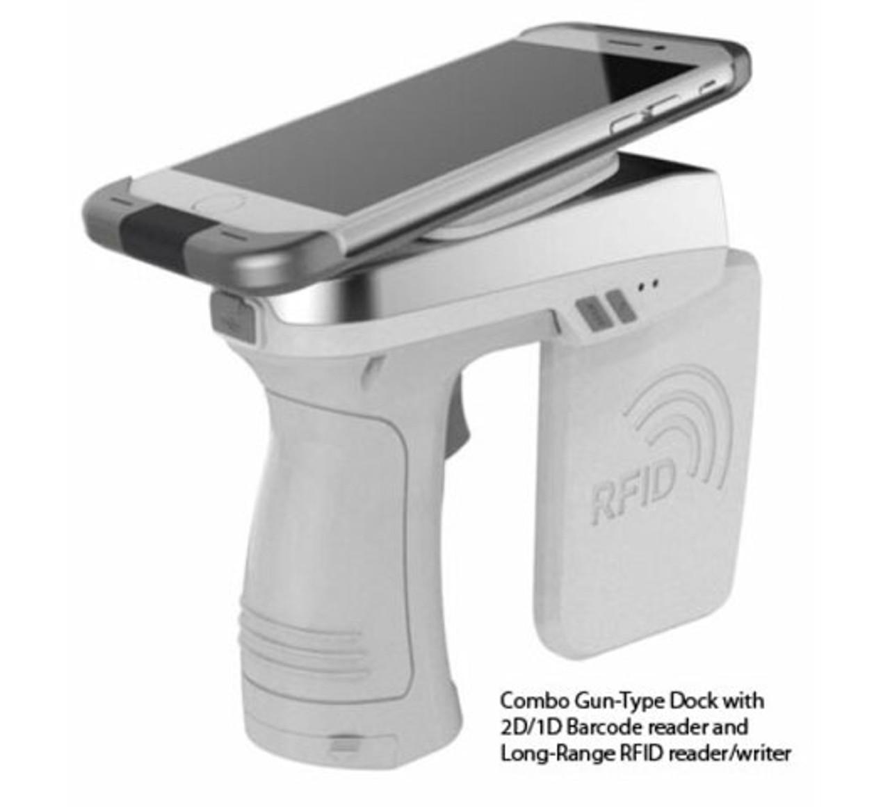 AsReader ASR-A250G UHF + 1D/2D Barcode Combo Gun (Android)