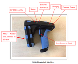 The Basics of Setting up the CS108 Handheld Reader