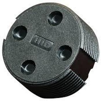 HID Bin Tag LF HDX BDE (EN14803), Black - No Logo (6B7104-102)