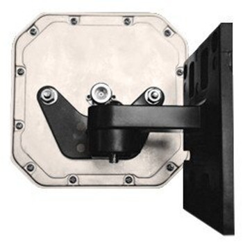 RFMAX ALLPMTE-001 Articulating Wall or Mast Mount for S9025P type RFID Antennas- Black (RFMAX-ALLPMTE-001)