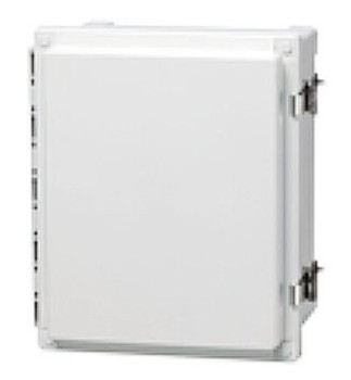 RFMAX NEMA 4X Polycarbonate Enclosure for RFID Readers, Cellular / M2M Modems (RFMAX-AR12106CHSSL-8561029)