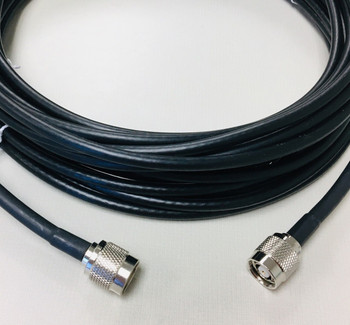 TronRFID Antenna Cable (195 Series, RP-TNC Male Both Ends) (LMR195-RPTNCM)