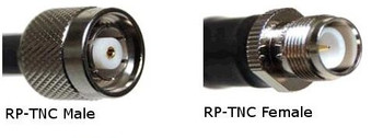 TronRFID Antenna Cable (400 Series, RP-TNC Female to RP-TNC Male) (LMR400-RPTNCFM)