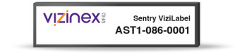 Visinex Sentry ViziLabel RFID Tag (AST1-086-0001)