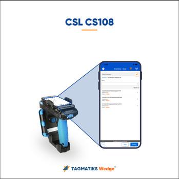 TagMatiks Wedge (RFID Software) with CSL CS108