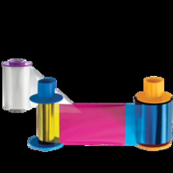 HID YMCKO Full Color Ribbon 45000