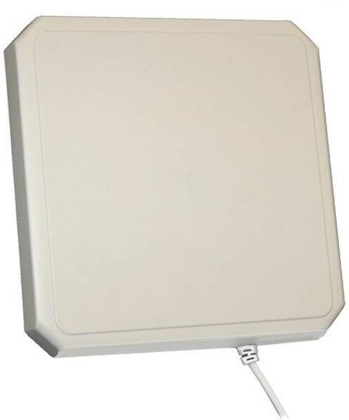 Laird RHCP 10x10 RFID Antenna w. 8 in. MMCX pigtail and 20 ft Cable RP-TNC(M) - Global (S8658WPR-T-03)