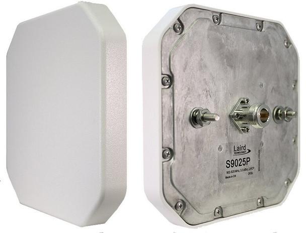 Laird CP 5x5 Rugged IP67 RFID Antenna w. RP-TNC(F) - US (S9025PxRTN)