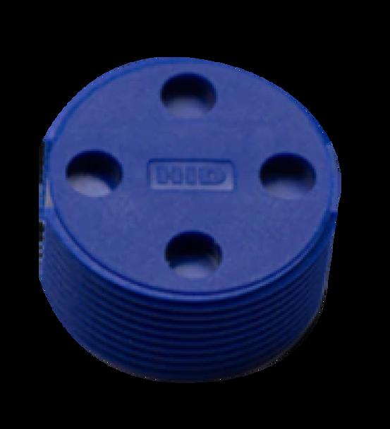 HID HF RFID Bin Tag - Blue, No Logo (729103-102B)