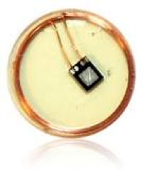 HID HF Embeddable Piccolino Tag 6.0 mm BLACK Vigo 1.6k bits 6B0192