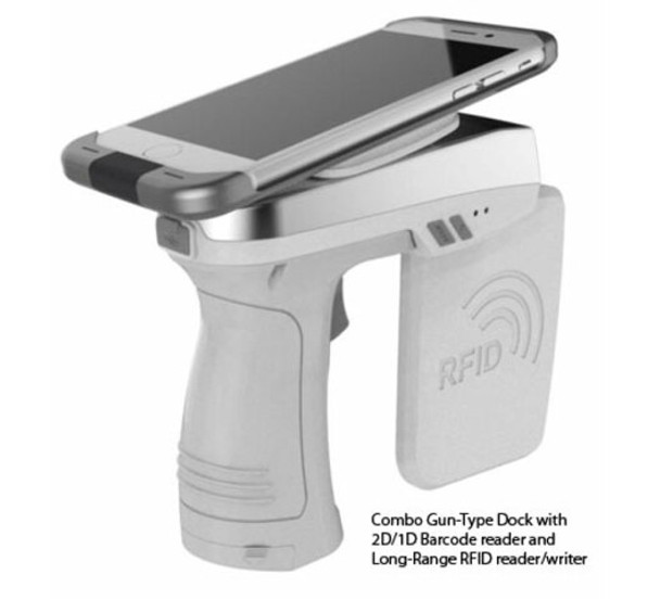 AsReader ASR-R250G UHF + 1D/2D Barcode Combo Gun (iOS) (ASR-R250G)