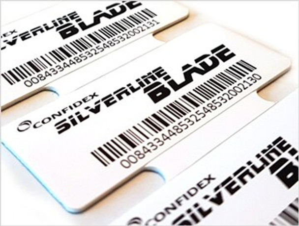 Confidex Silverline Blade RFID Label by Zebra (10028598)
