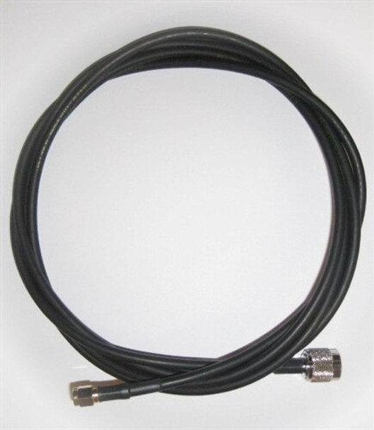 Times-7 4m Antenna Cable (240 Series, RP-TNC Male to SMA Male) (71784)