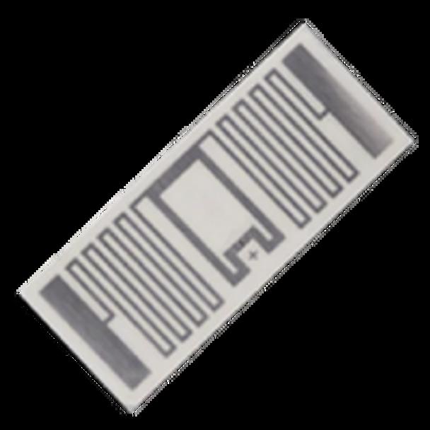 HID RFID LABEL PET WHITE RECT 43X18MM UHF MR6 (6F1F43)