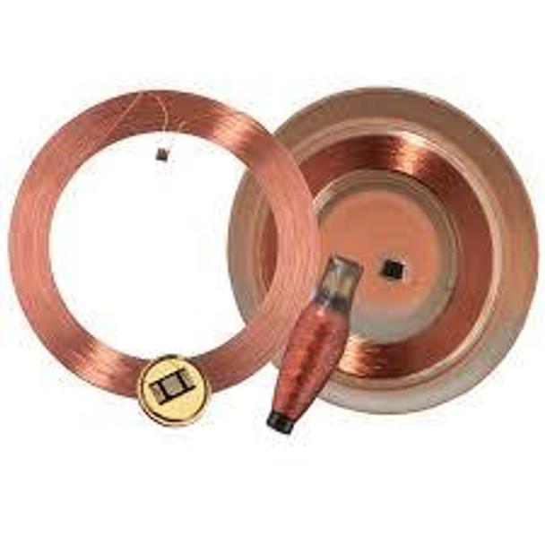 HID LF Clear Disc Tag Q5 22 mm (612116)