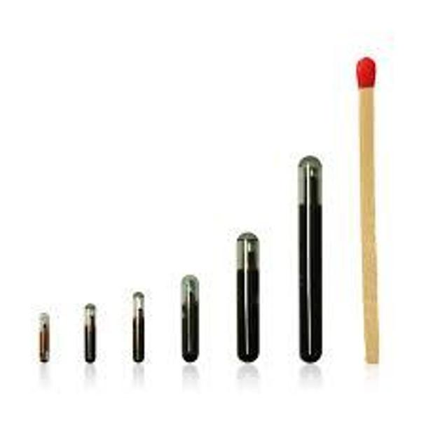 HID Glass Tag LF EM 4305 - 3 x 13 mm BDE (EN14803) prog 684244-001