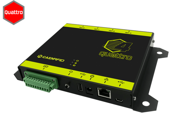 Caen Quattro R4321P Small 4-Port Long Range RFID Reader (WR4321PXAAAA)
