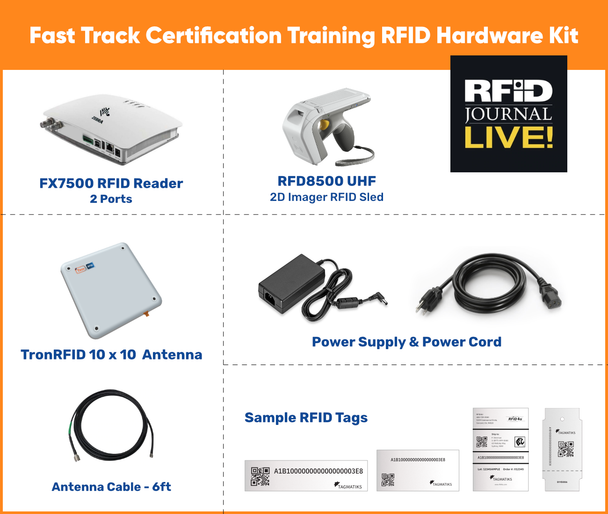 Fast Track Certification Training RFID Hardware Kit