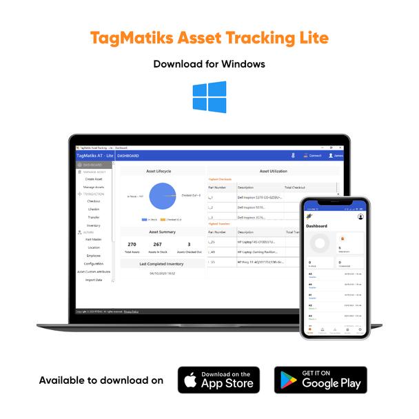TagMatiks AT Lite - RFID Asset Tracking Software