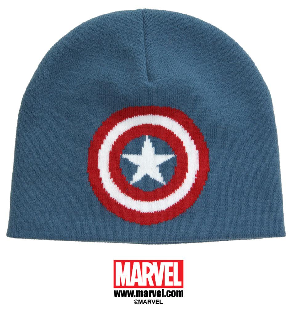 Captain America Knit Beanie