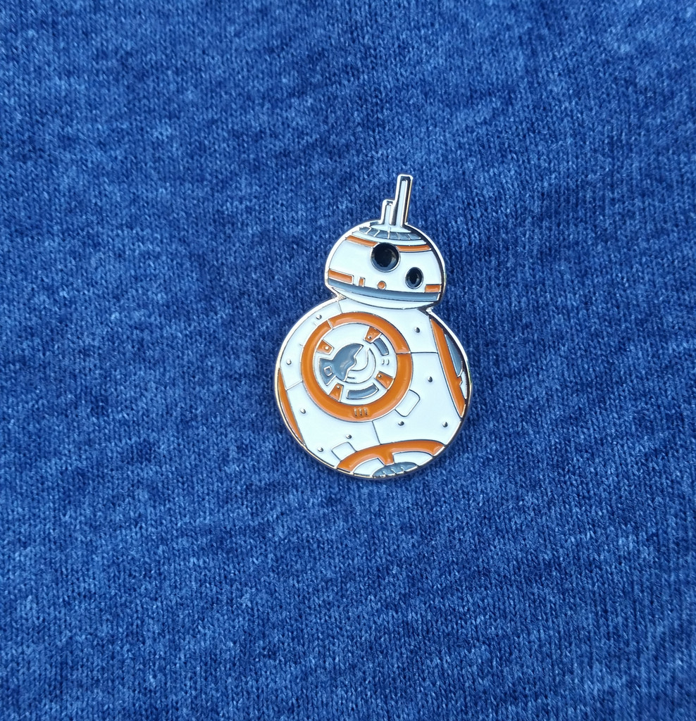 BB-8 - Star Wars Movie Series - Enamel Disney Art Trading Pin - BB8 Droid