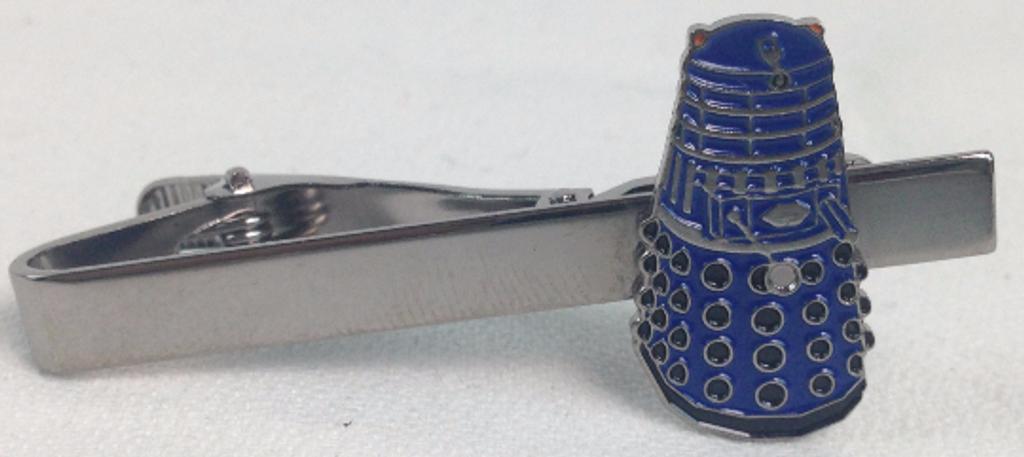 Blue Dalek Tie Clip