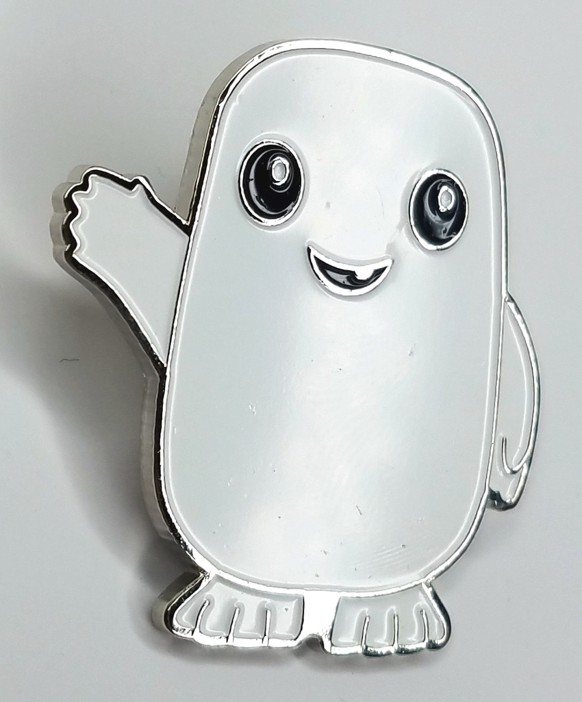 Adipose Enamel Pin