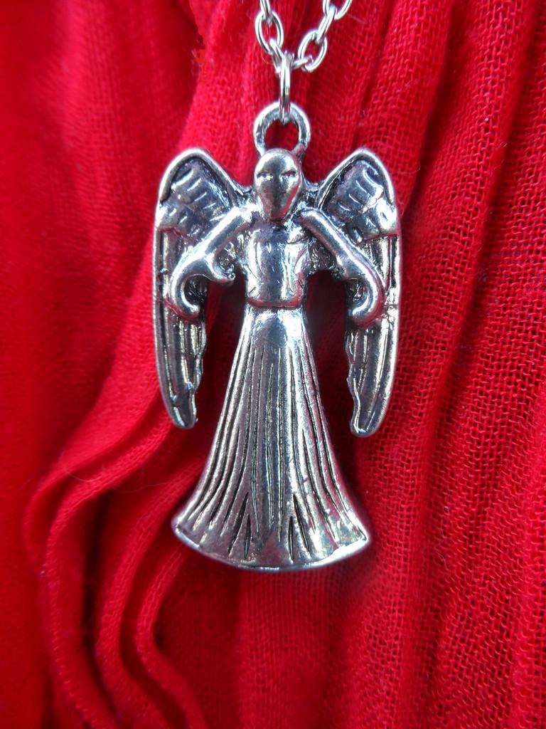 Weeping Angel Pendant