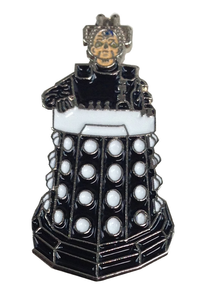 DAVROS Doctor Who - BBC Science Fiction TV Series - UK Imported Enamel Lapel Pin