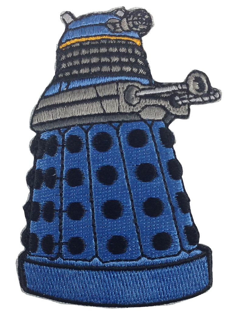 Blue Dalek Patch