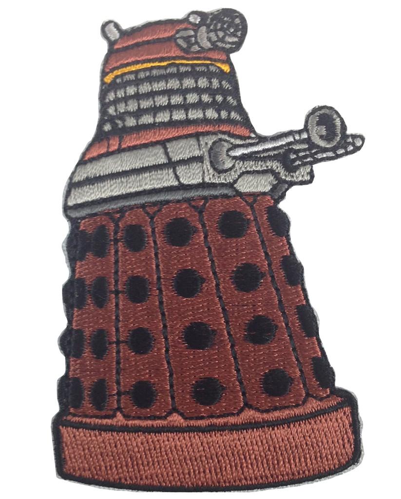 Red Dalek Patch