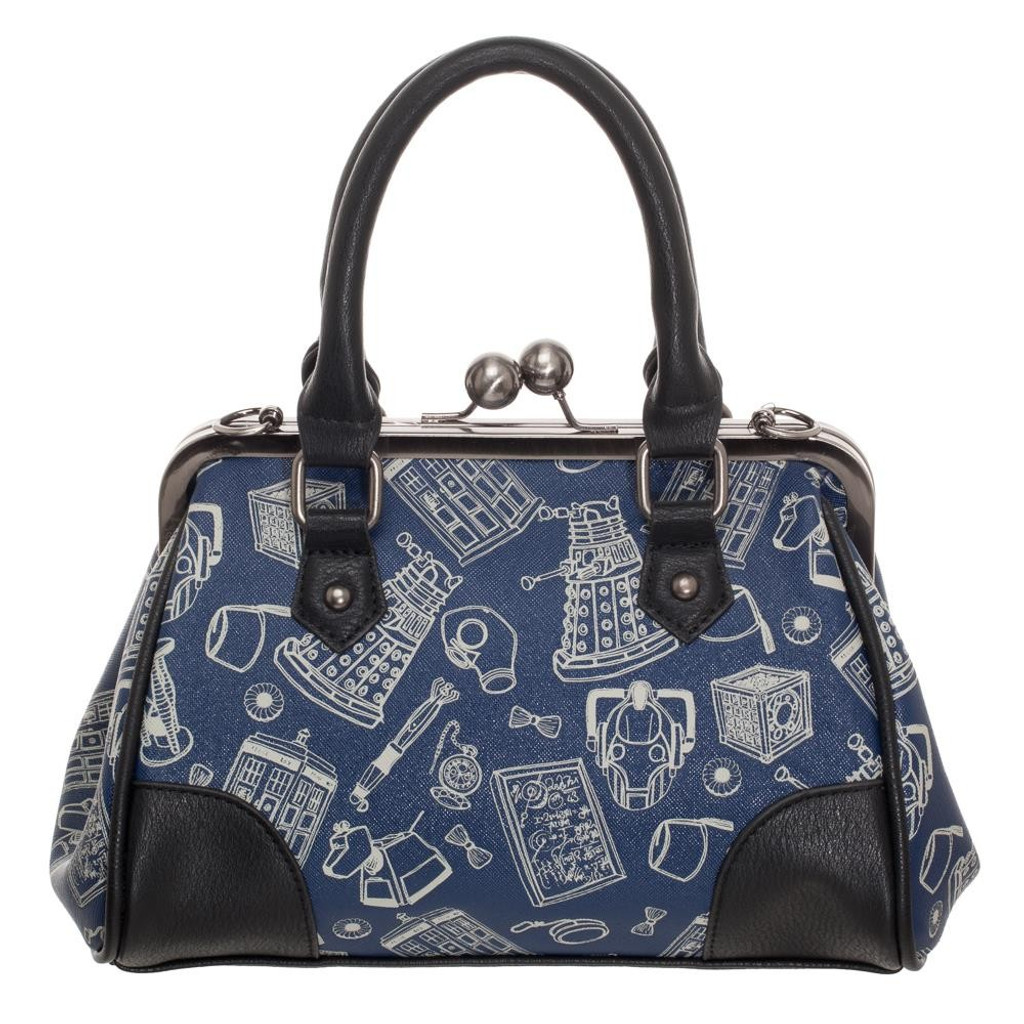 Doctor Who Kiss Lock Handbag