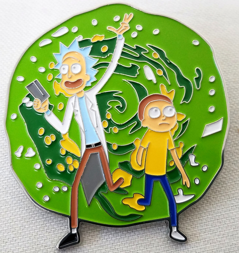 Rick and Morty Enamel Pin