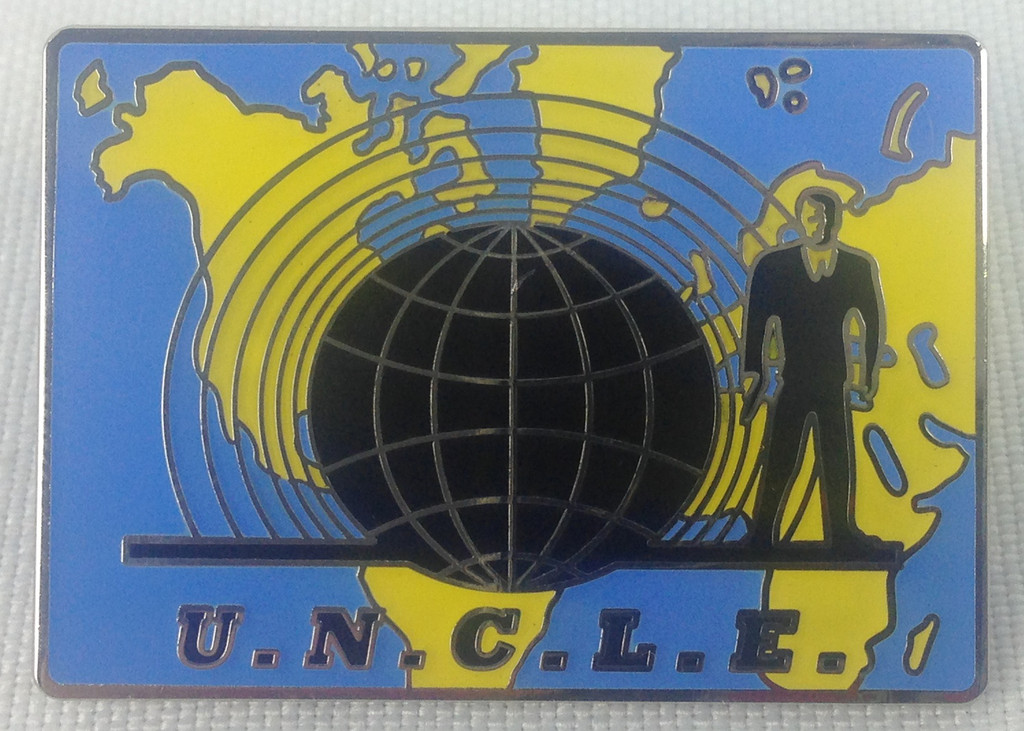 Man From Uncle - U.N.C.L.E. 1960's Television Spy Series - Enamel Lapel Pin