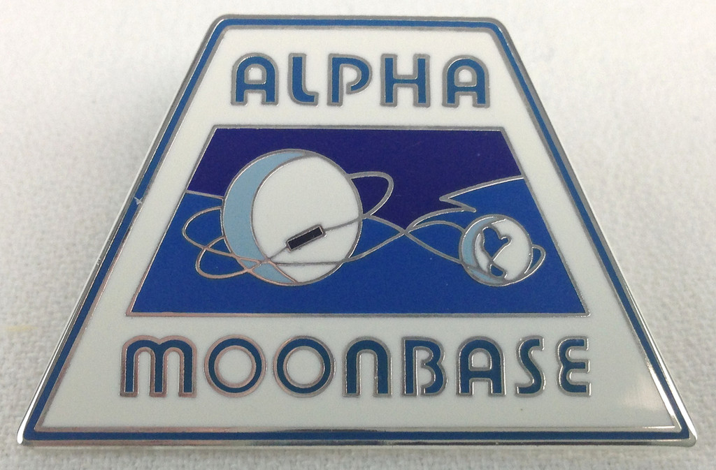 SPACE 1999 - Alpha Moonbase - Gerry Anderson TV Series - UK Enamel Lapel Tie Lapel Pin