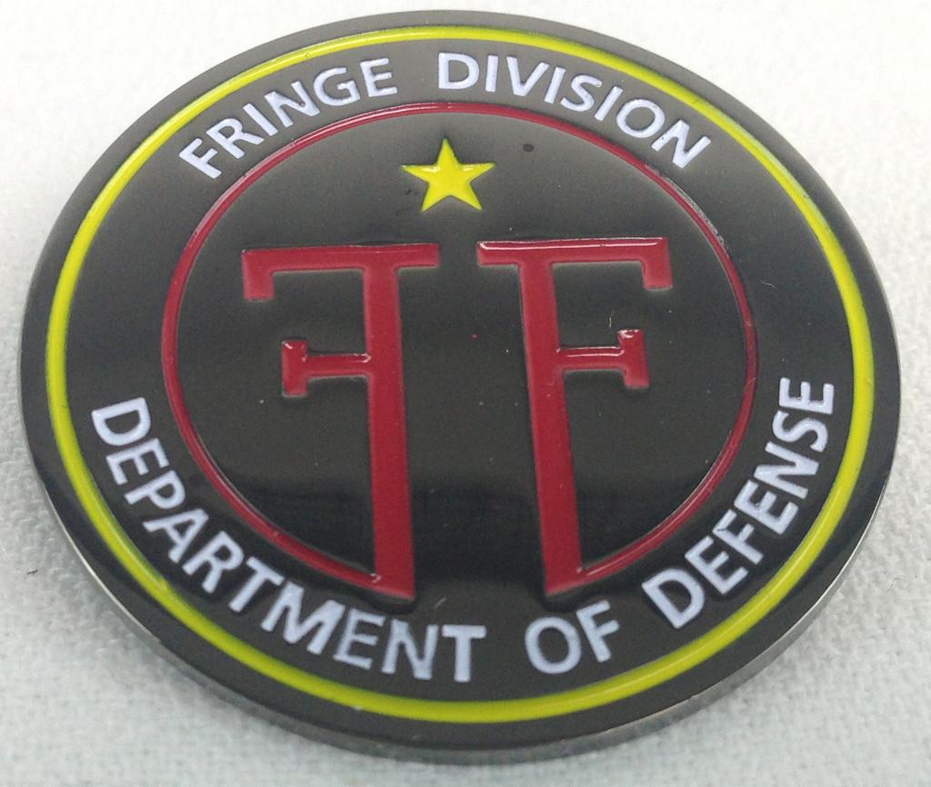 Fringe TV Show Logo Enamel Pin