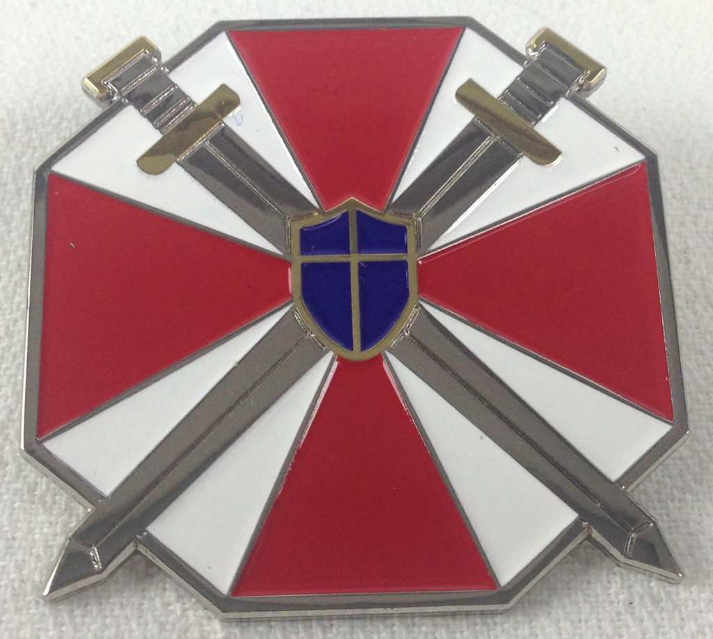 Resident Evil Special Forces Enamel Pin
