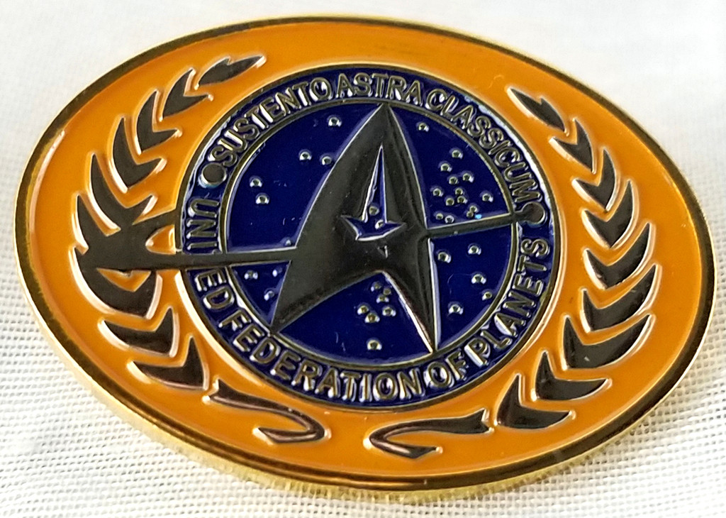 Star Trek Federation Logo Enamel Pin